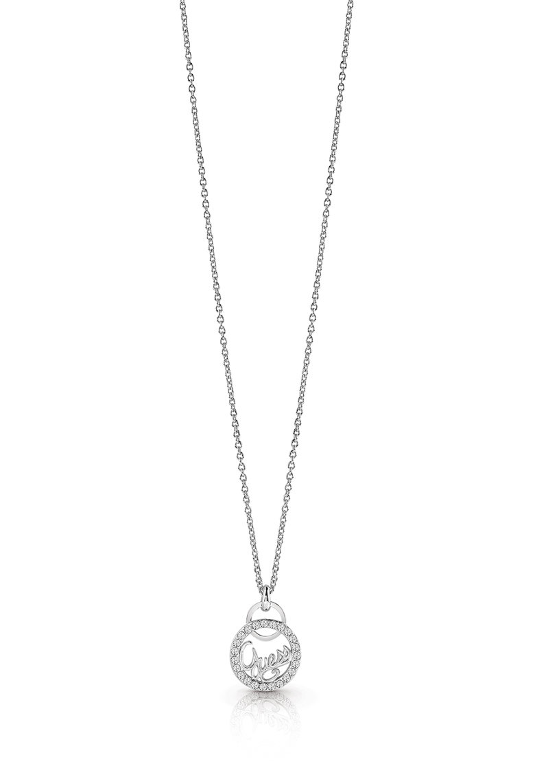 Colier cu pandantiv logo si cristale Swarovski
