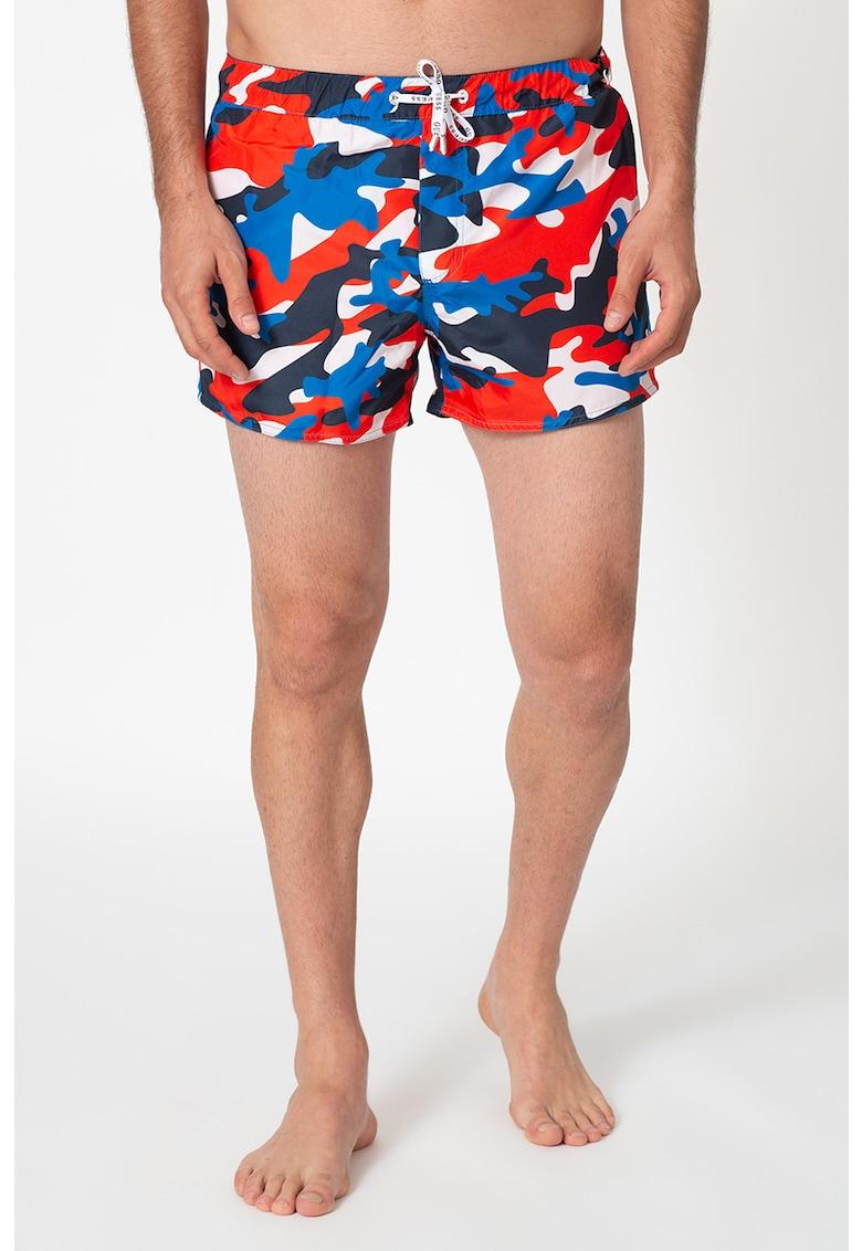 Pantaloni scurti de baie cu imprimeu imagine