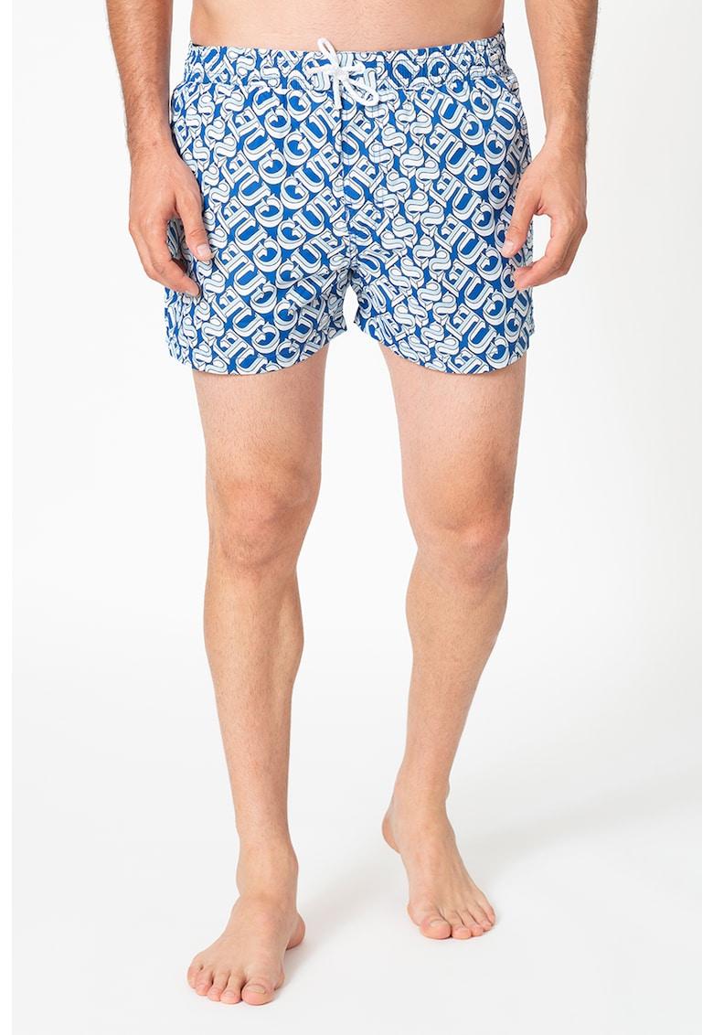 Pantaloni scurti de baie cu model logo imagine