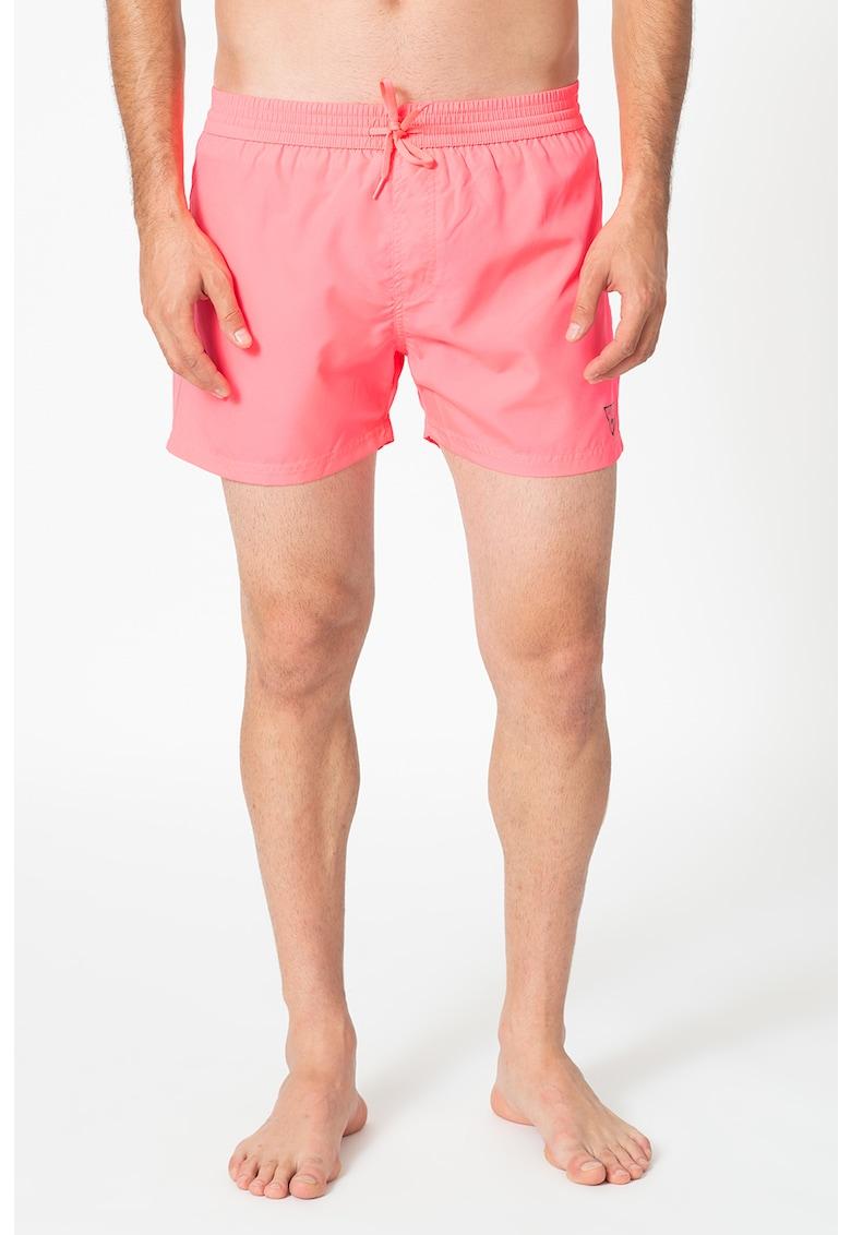 Pantaloni scurti de baie cu detaliu logo discret imagine