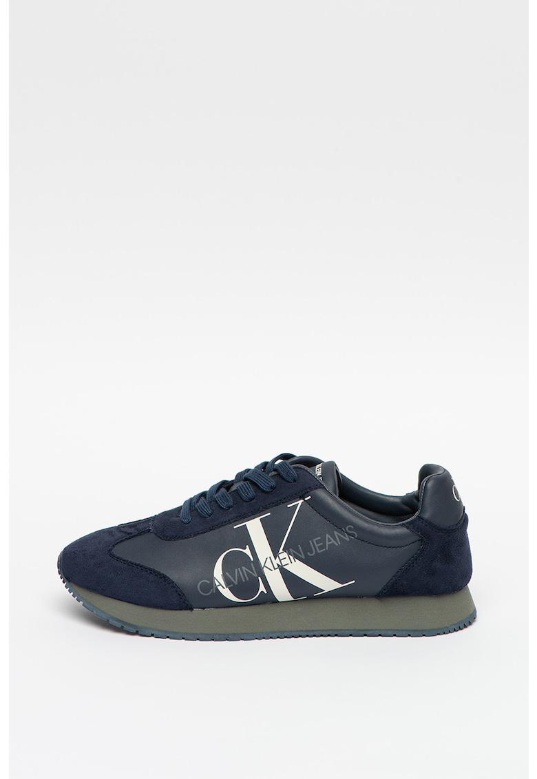 Pantofi sport de piele ecologica cu logo Joele imagine
