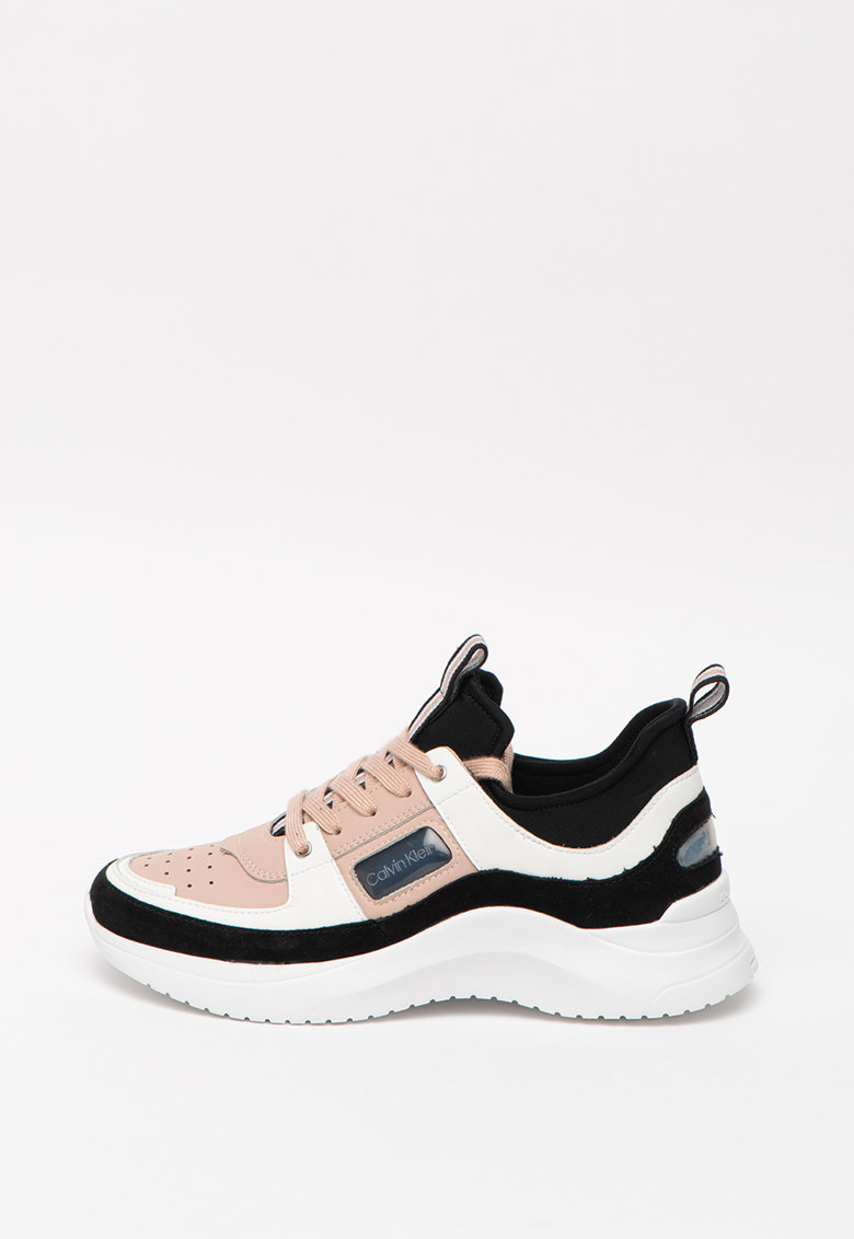 Pantofi sport cu model colorblock si garnituri de piele Ultra 1