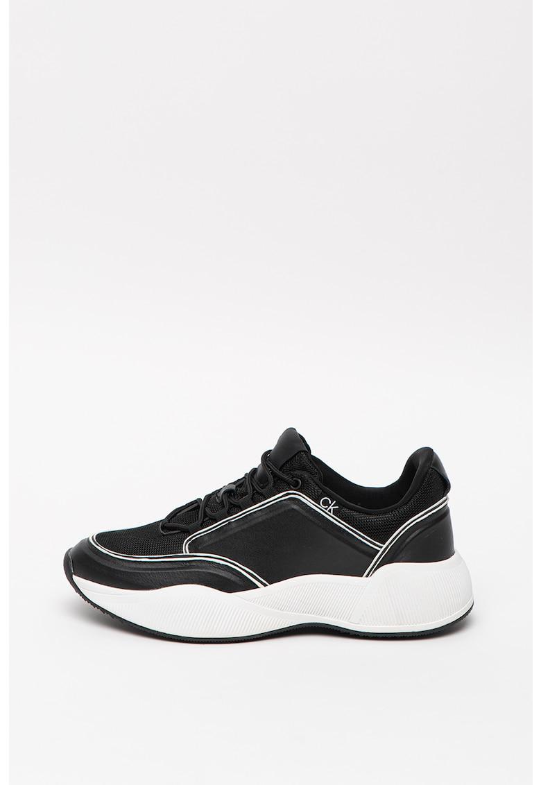 Pantofi sport cu garnituri de piele Bradie 1