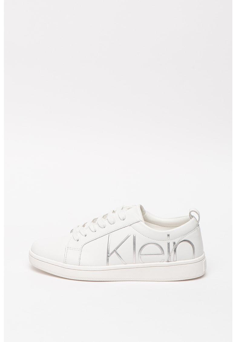 CALVIN KLEIN - Pantofi sport de plasa cu aplicatie logo Alma 2