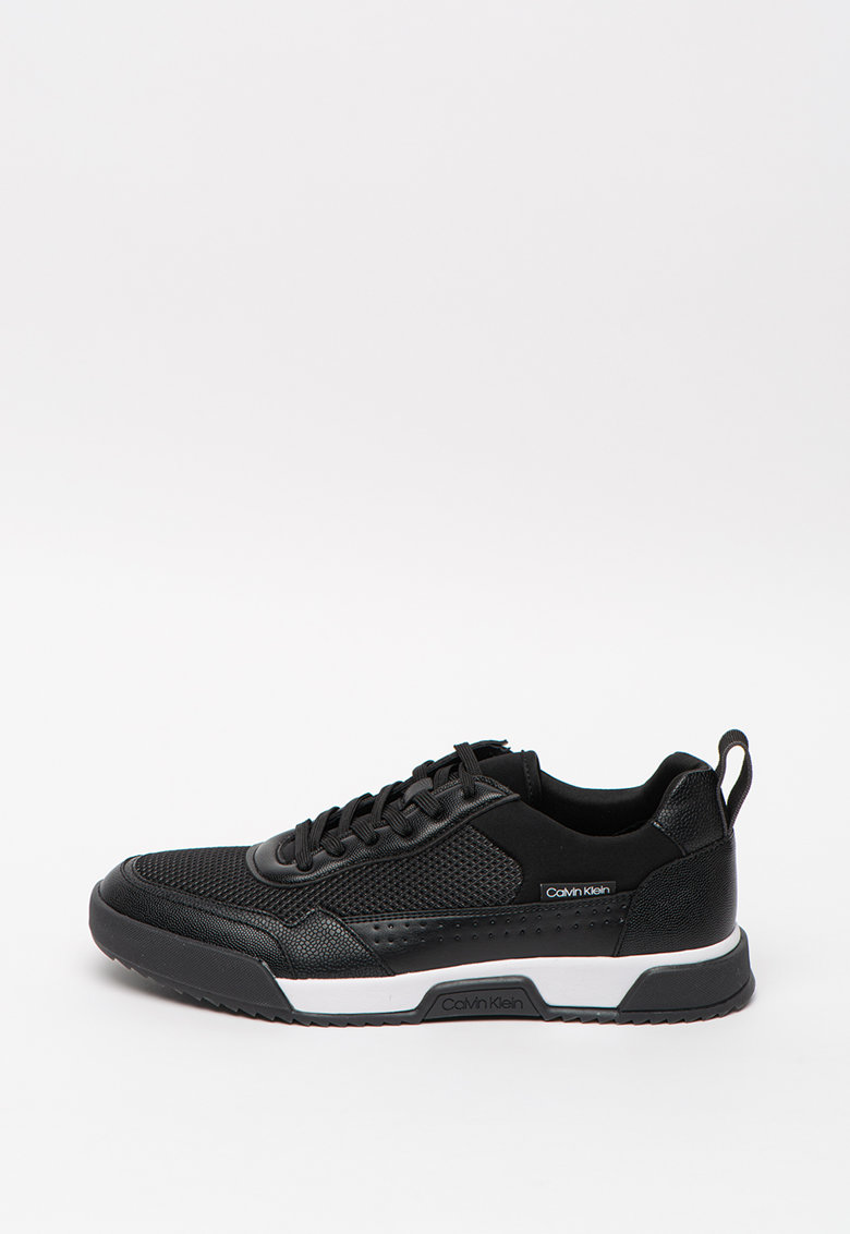 Pantofi sport cu garnituri de piele ecologica si plasa Holt 2