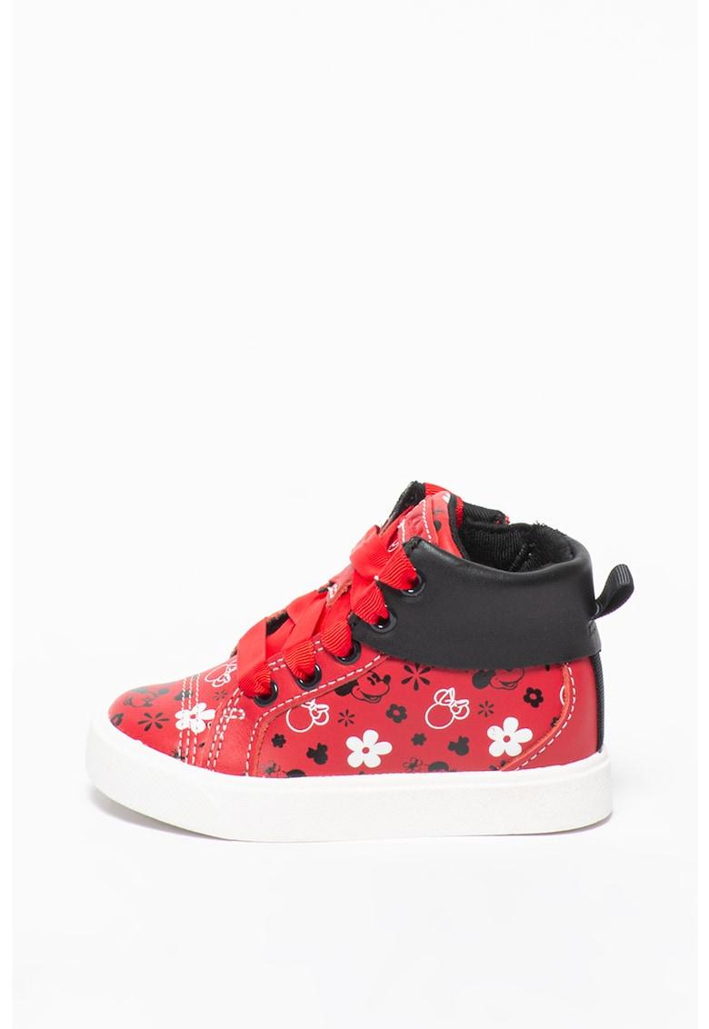 Pantofi sport mid-high de piele City Mouse