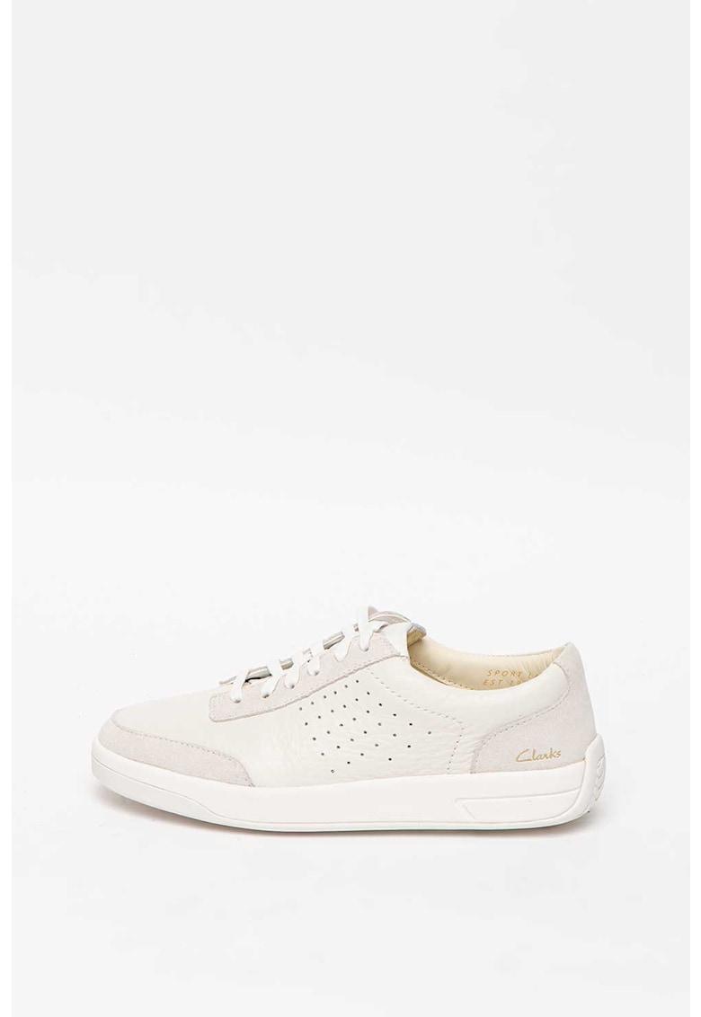 Pantofi sport de piele cu garnituri de piele intoarsa Hero Air Lace