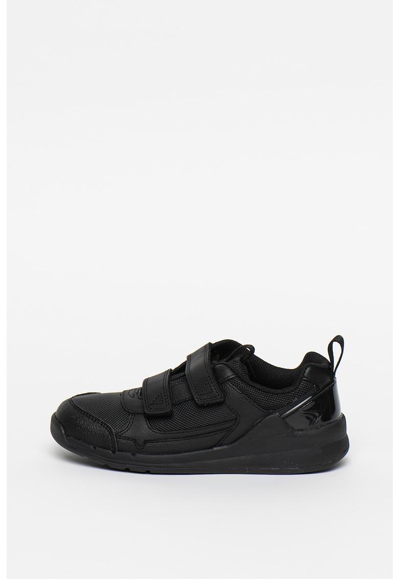 Pantofi sport de piele cu garnituri de plasa Orbit Sprint imagine