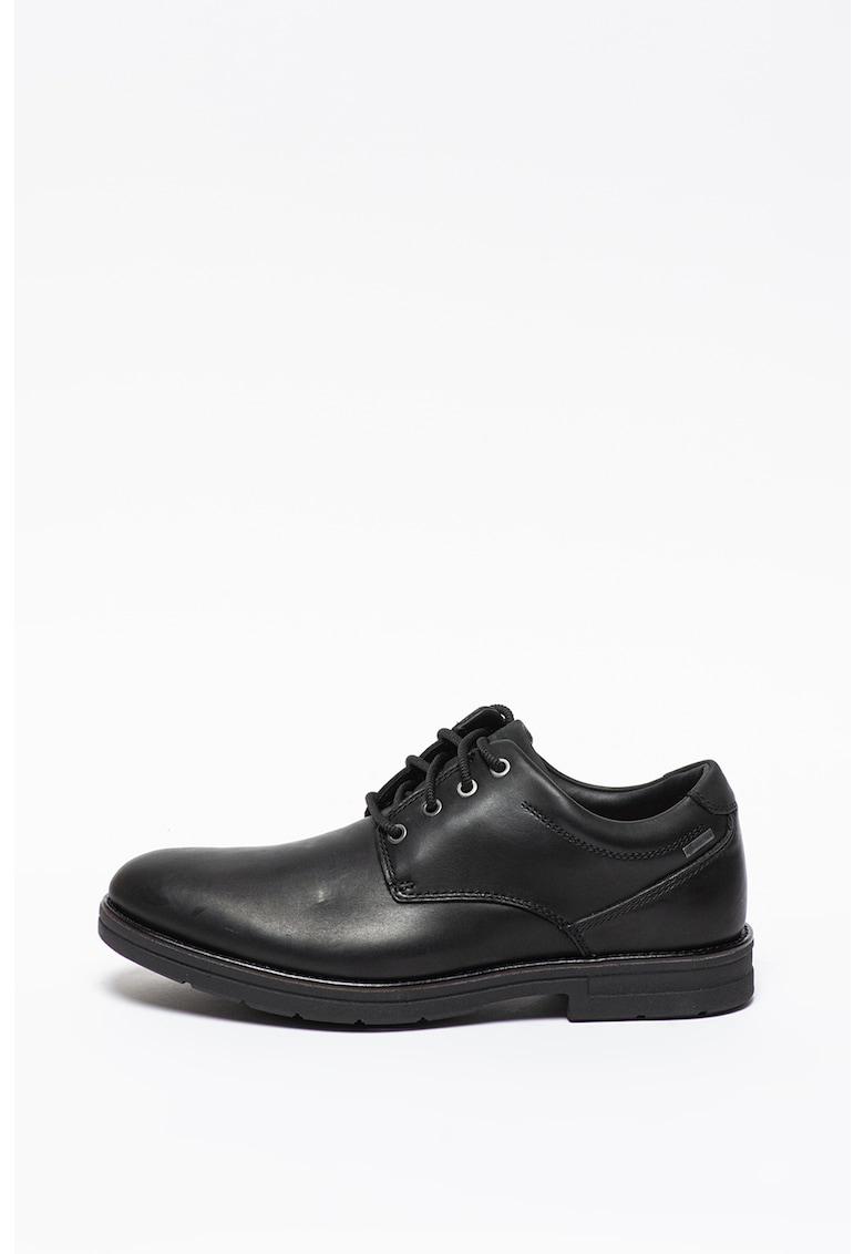Pantofi derby de piele Banning imagine