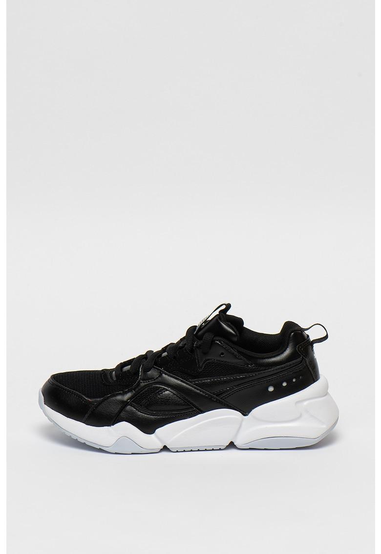 Pantofi sport cu insertii din plasa Nova 2 1