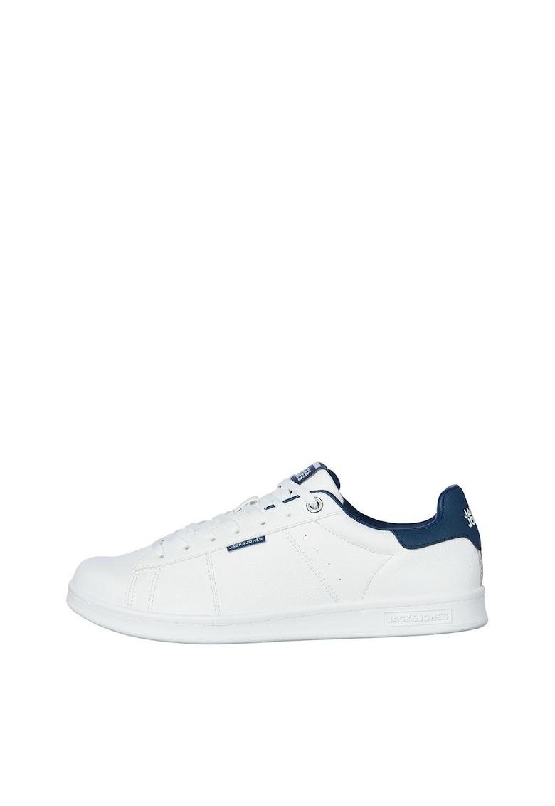 Pantofi sport low cut din piele ecologica imagine