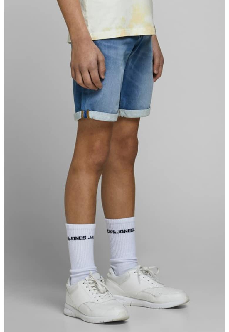 JackJones Pantaloni scurti din denim - cu terminatii pliabile