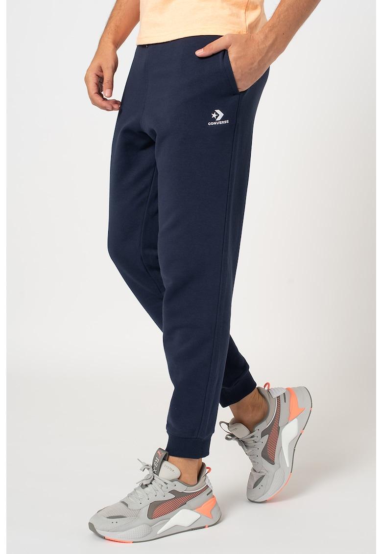 Pantaloni sport conici cu buzunare