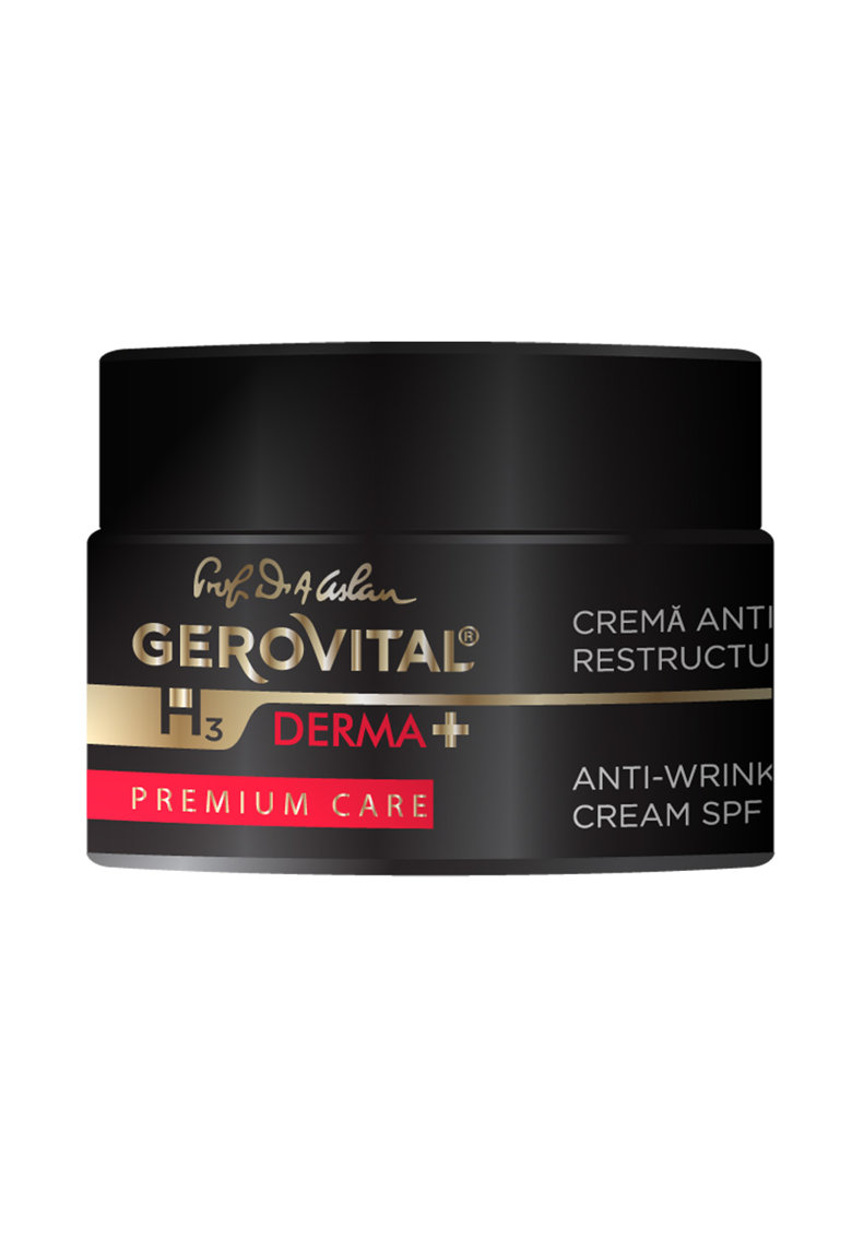 Gerovital Crema antirid restructuranta  H3 Derma+ Premium Care - cu SPF10 - 50 ml