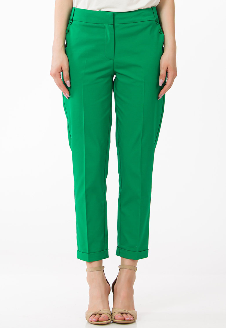 Pantaloni crop conici de la Sense
