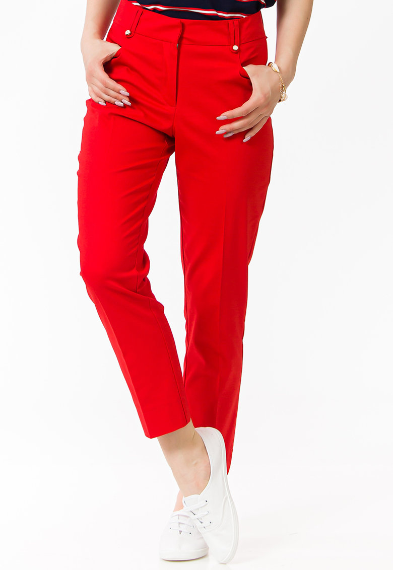 Pantaloni crop slim fit de la Sense