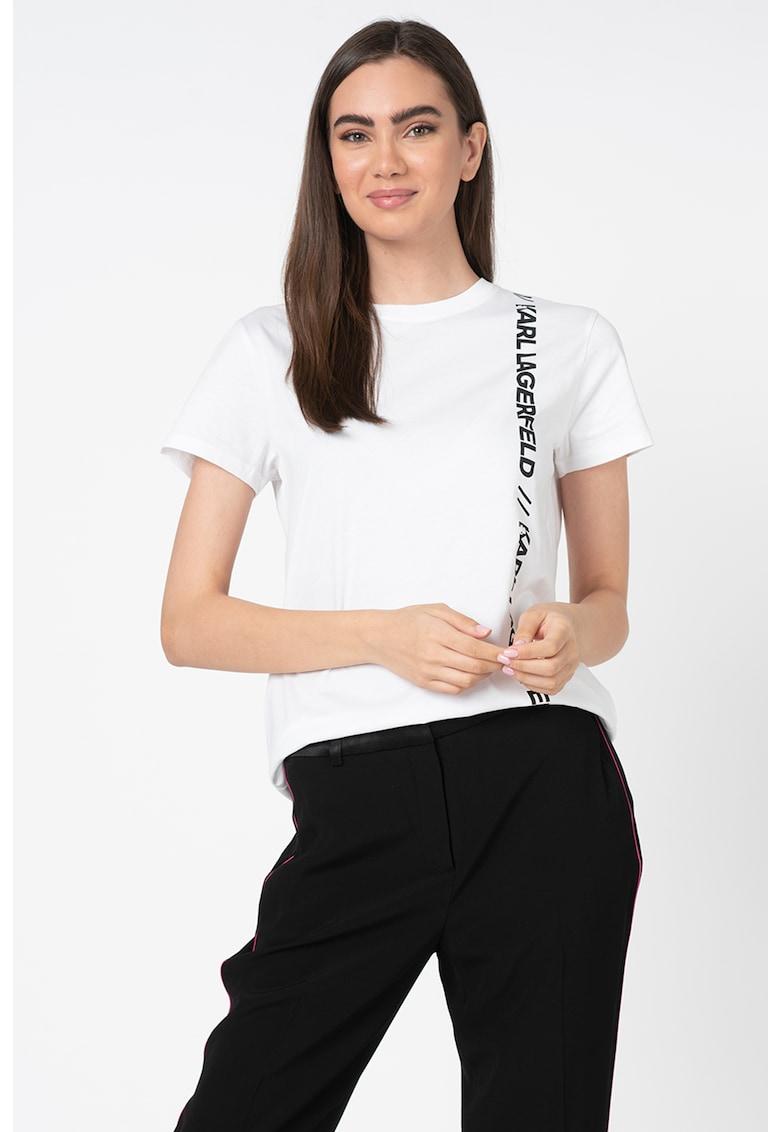Tricou cu imprimeu logo Athleisure
