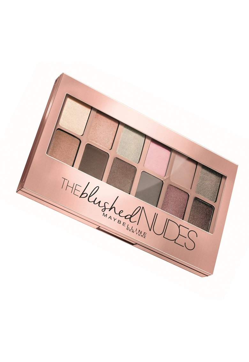 Maybelline NY Paleta Fard de pleoape  The Blushed Nudes 01 Blushed Nudes – 7.9 g