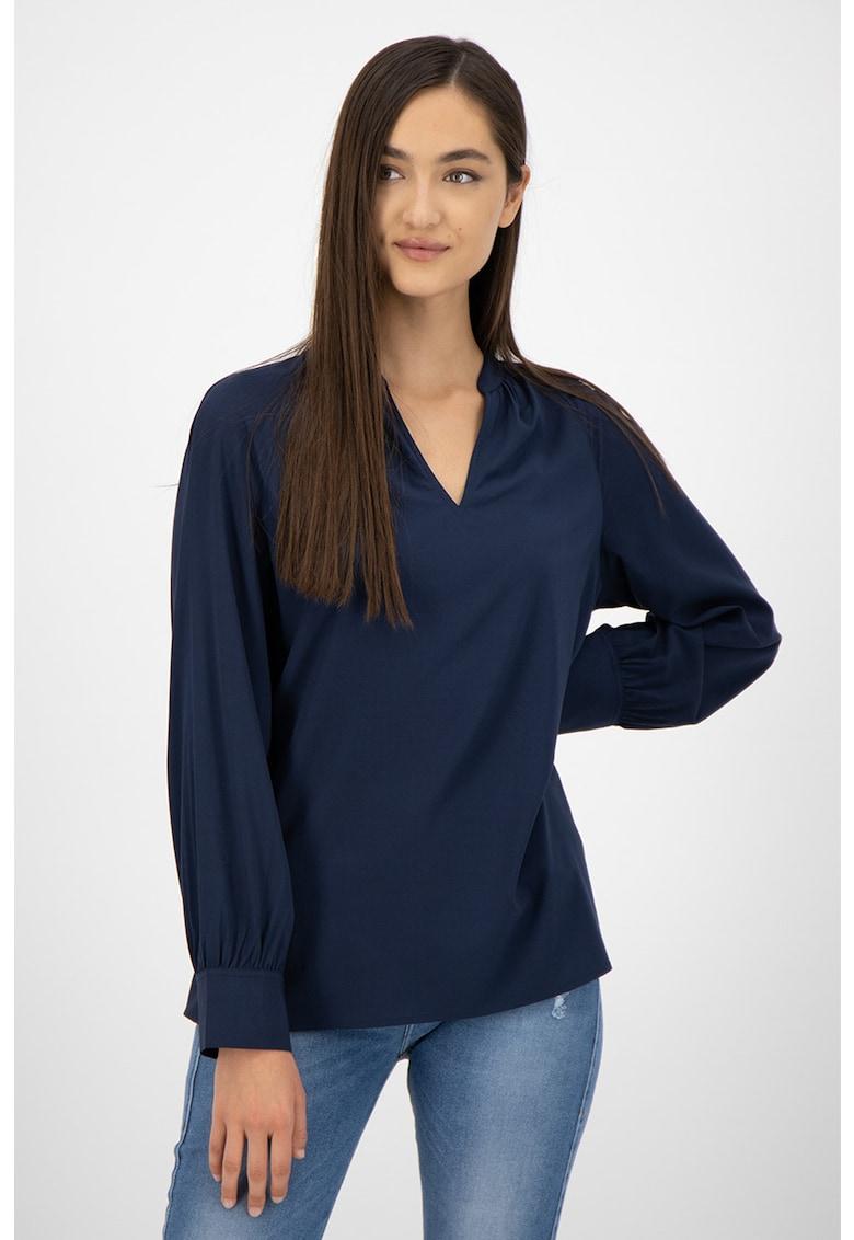Bluza tip tunica cu maneci raglan