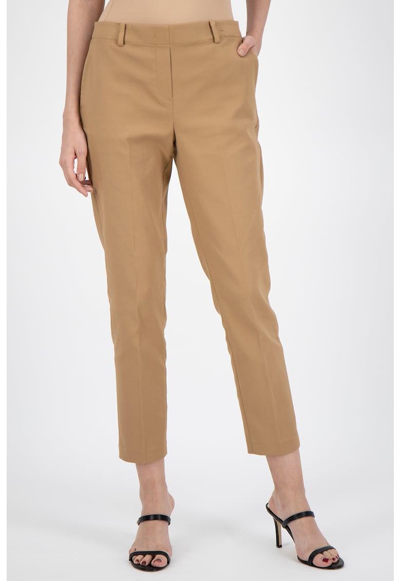 Pantaloni crop conici