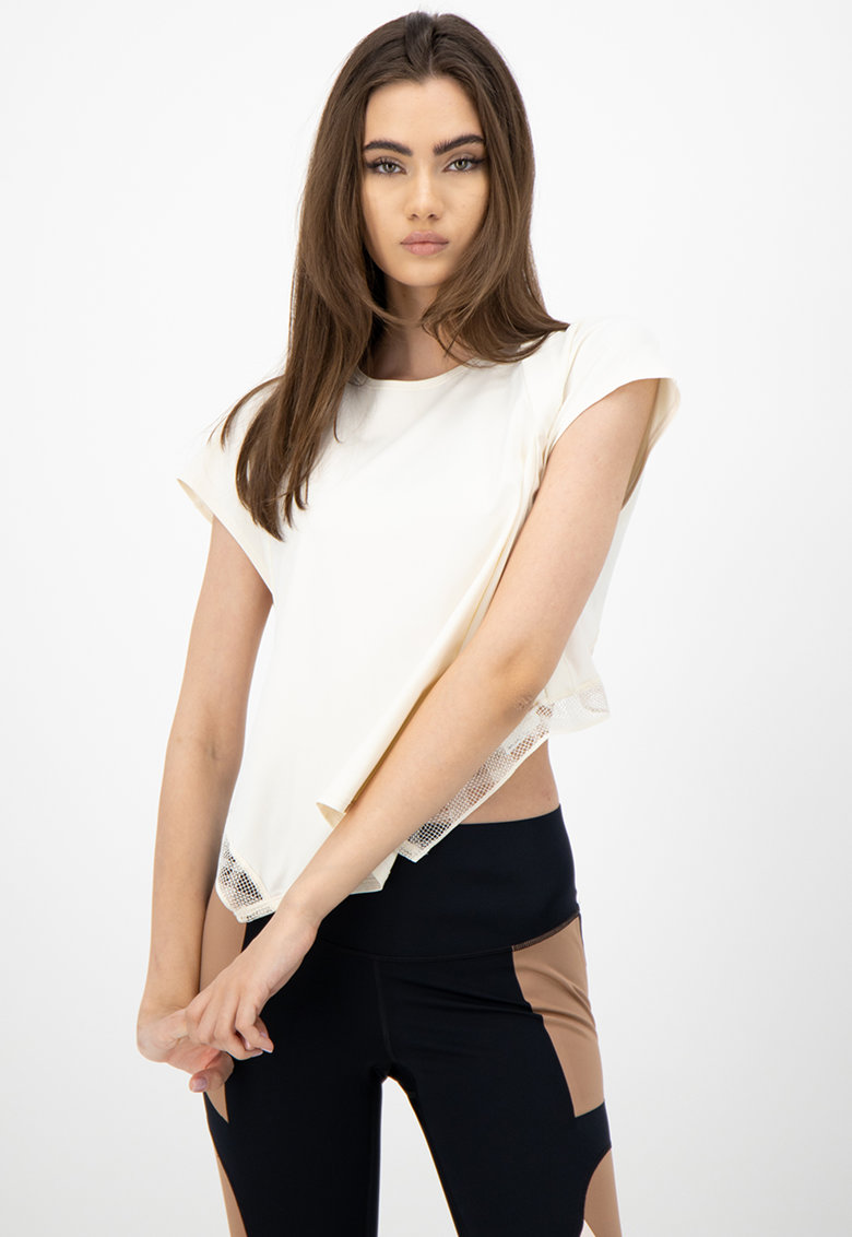 Tricou cu insertii de plasa - pentru fitness Misty poza fashiondays