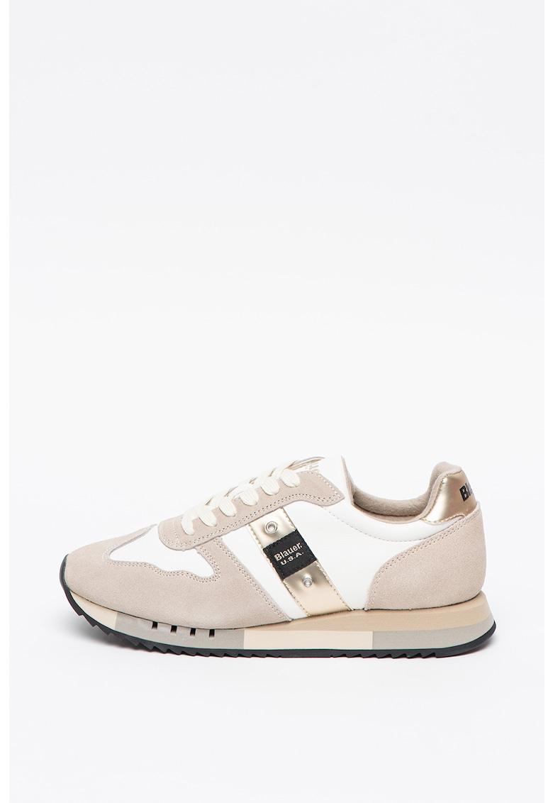 Pantofi sport de piele intoarsa Melrose