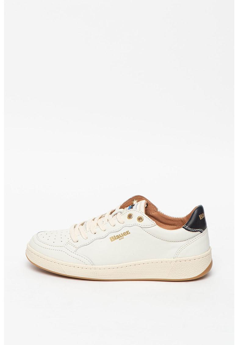 Pantofi sport de piele si material textil Olympia imagine