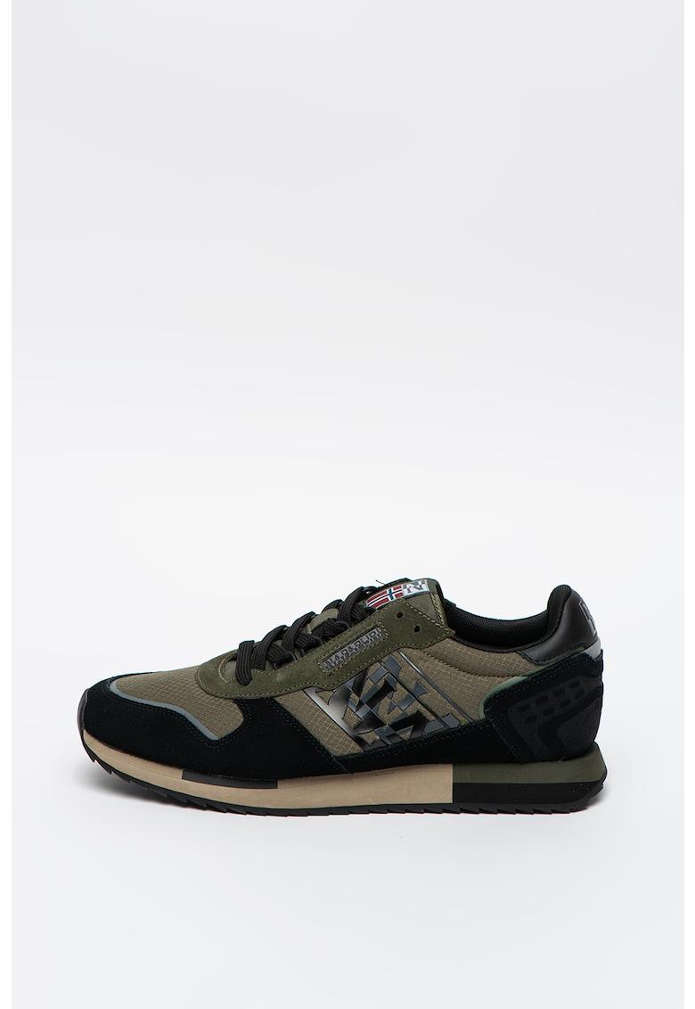 Pantofi sport din piele intoarsa si material sintetic Virtus