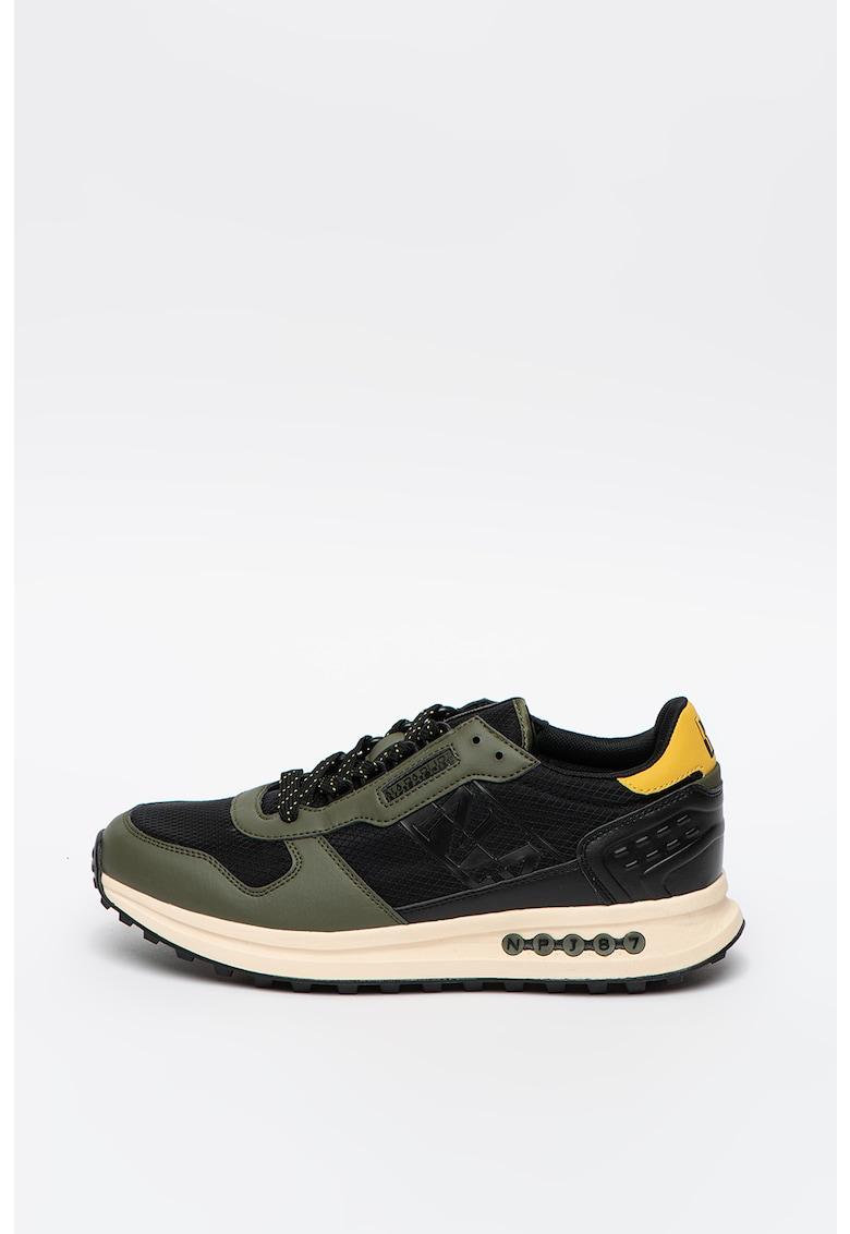 Pantofi sport cu insertii din plasa Slate