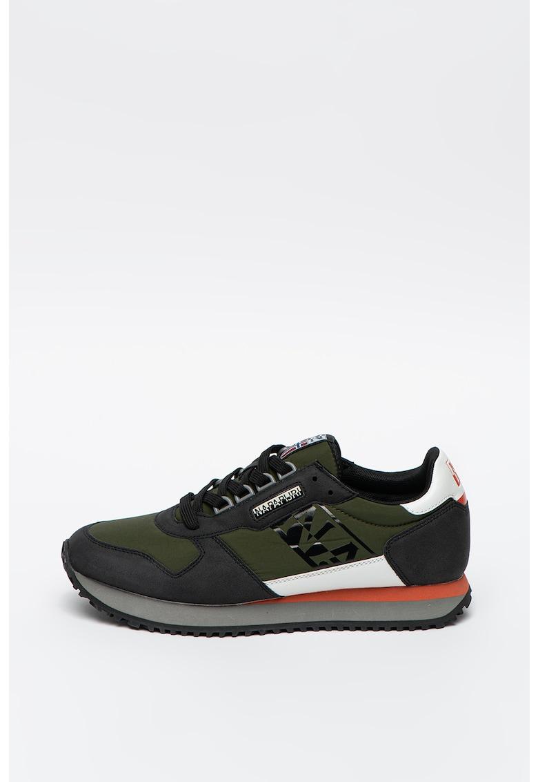 Pantofi sport cu insertii din material textil Beaver