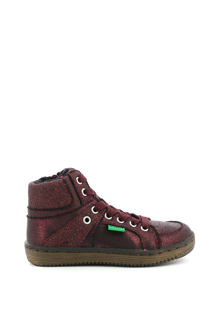 Pantofi sport inalti din piele ecologica cu captuseala din blana sintetica imagine fashiondays.ro
