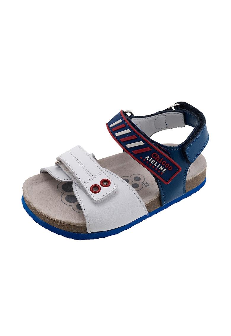Sandale de piele cu brant ergonomic