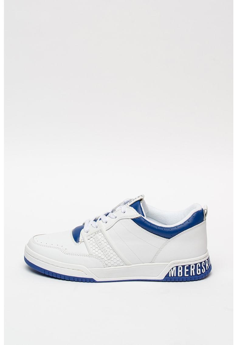 Pantofi sport de piele si piele ecologica Scoby
