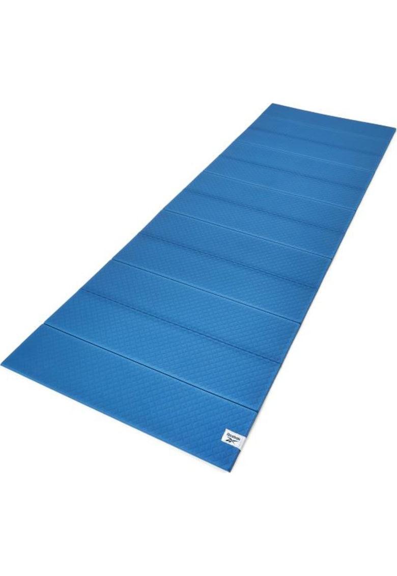 Saltea fitness/folded/pilates 180x60x0.6 cm - albastru