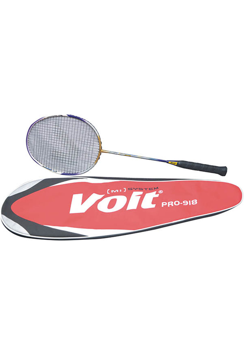 Racheta badminton Voit Negru/Galben - cu husa fashiondays.ro