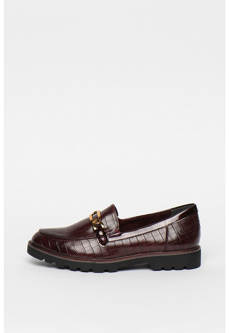 Pantofi loafer de piele ecologica imagine