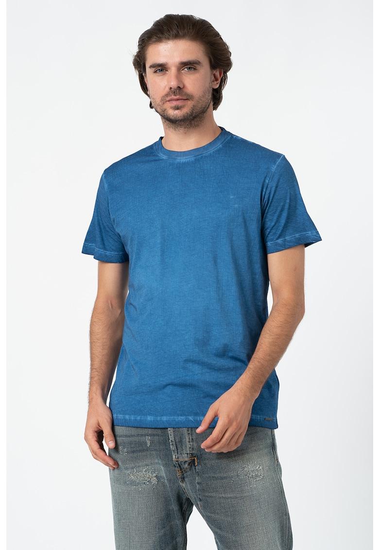 Tricou de bumbac - cu decolteu la baza gatului Zoi