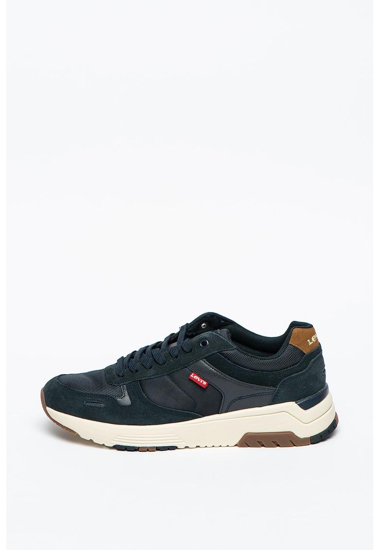 Pantofi sport de piele intoarsa cu insertii de plasa Pinecrest imagine