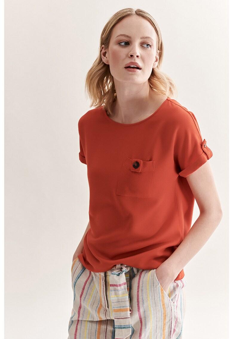 Bluza cu buzunar pe piept Borena imagine fashiondays.ro Tatuum