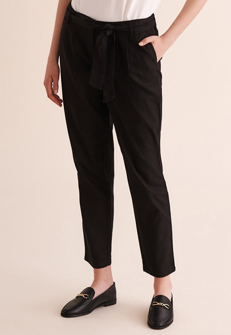 Pantaloni din amestec de in Bosime 1