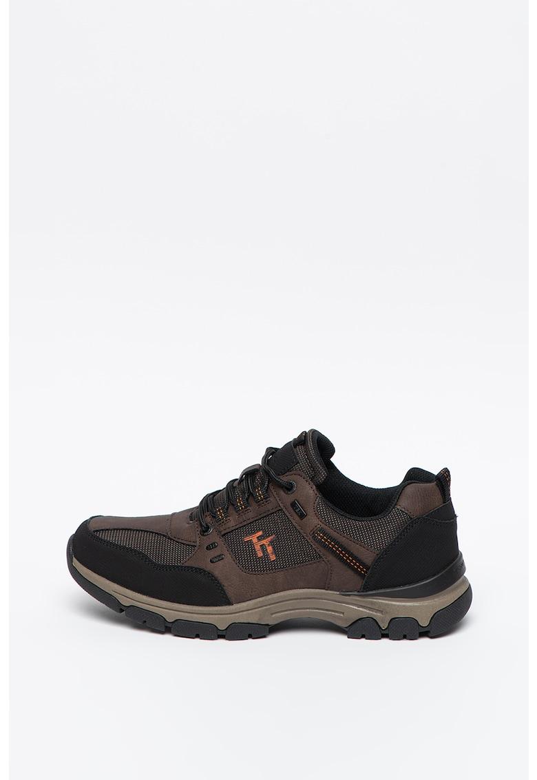 Pantofi sport de piele ecologica si material textil imagine promotie