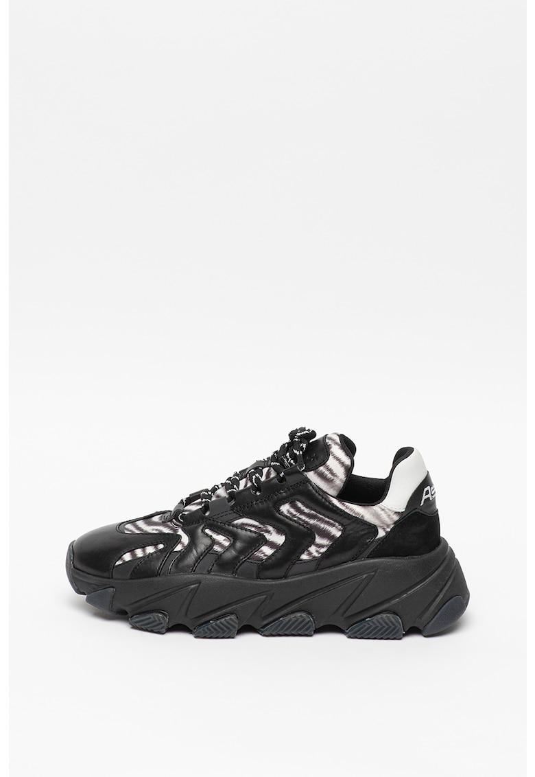 Pantofi sport cu talpa cu aspect masiv Extreme