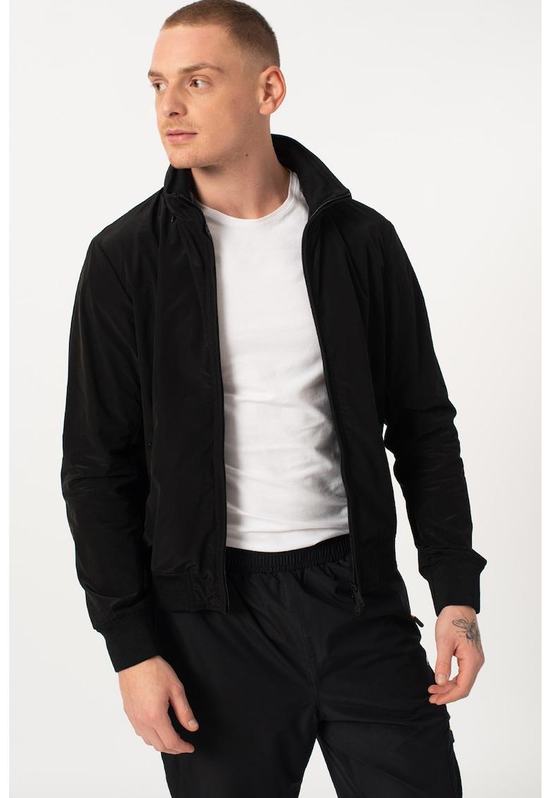 Jacheta cu fermoar si buzunare laterale