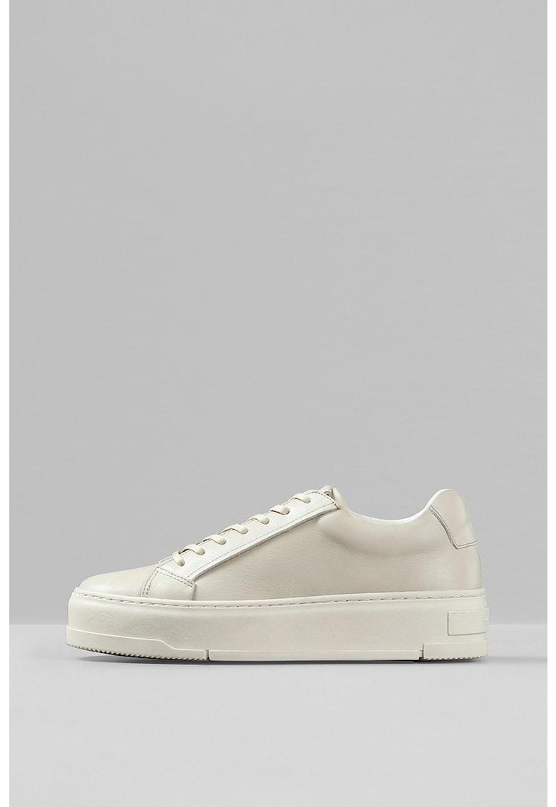 Pantofi sport flatform din piele Judy