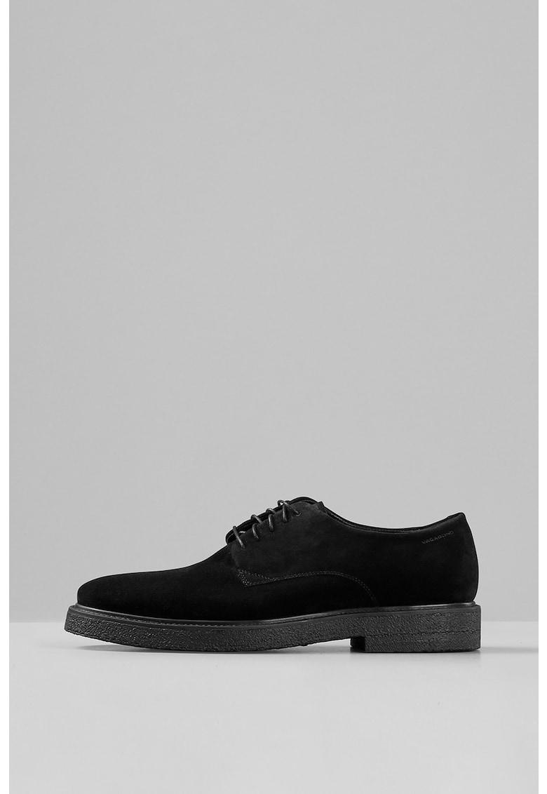 Vagabond Shoemakers Pantofi derby din piele intoarsa
