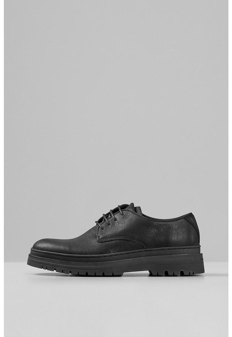 Vagabond Shoemakers Pantofi din piele cu sireturi si talpa aderenta