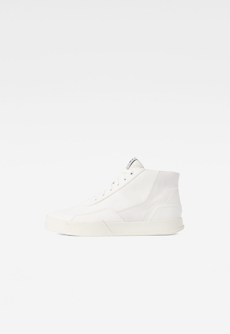 Pantofi sport inalti din piele ecologica cu insertii din material textil