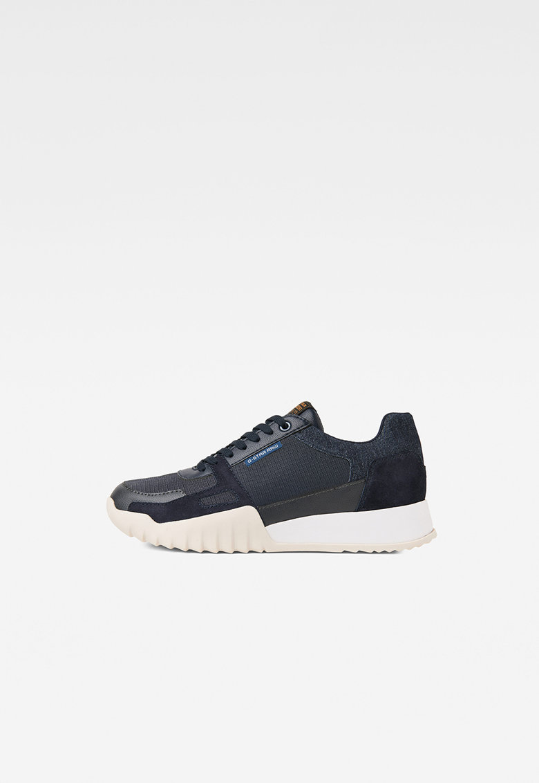 Pantofi sport cu insertii din piele intoarsa imagine promotie