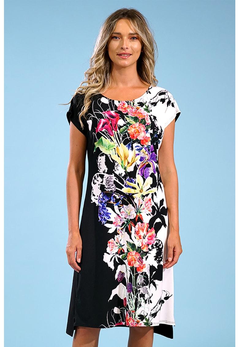 Rochie midi cu imprimeu floral Format-Lady