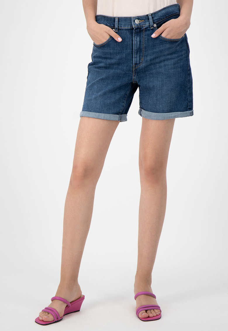 Pantaloni scurti din denim Oahu Morning Dew